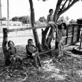 Crianças brincando, Soure-PA - Ilha do Marajó.