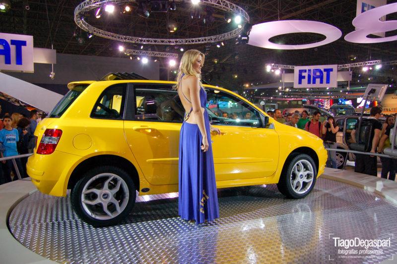 Lançamento Fiat Stylo no Salão do Automóvel em SP. Créditos Tiago Degaspari.