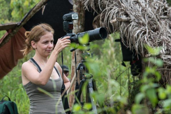 Ana Carolina: Psicóloga e Master Coach de profissão. Fotógrafa de natureza nas raras horas vagas.