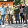 Tanquã: guiando grupo de São Carlos no pantanal paulista.